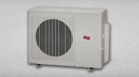 This is a picture of the entire line of Ruud recreational A/C products that Delta T sells.