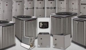 This is an image of a trio of replacement AC's